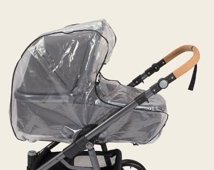 naturkind kinderwagen - regenschutz