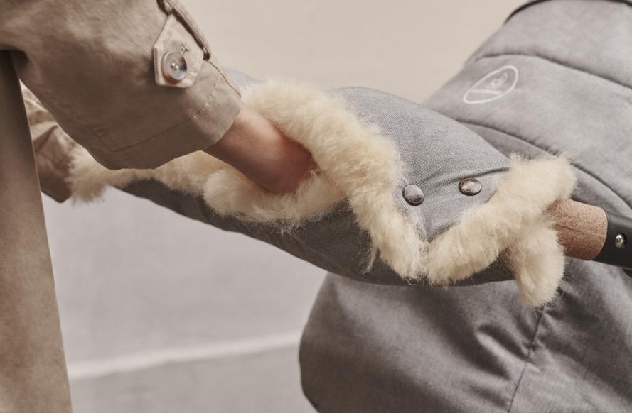 naturkind kinderwagen - warmer handmuff