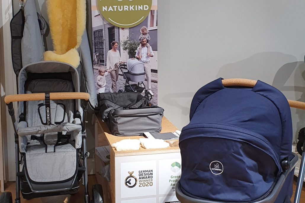Buy a Naturkind pram from one of many Naturkind dealers