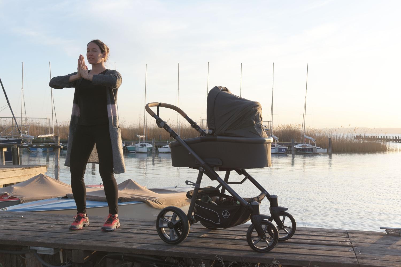 Rückbildung nach der Geburt: Outdoor mit Kinderwagen